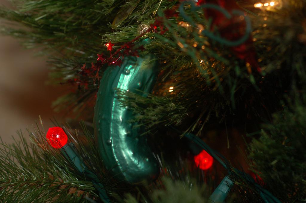 Vergessene Weihnachtsbräuche - Weihnachtsgurke