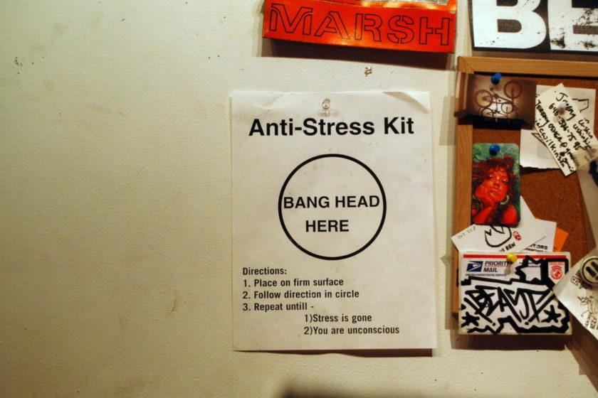 Beitragsbild: Stress auf der Arbeit Da geht noch was!