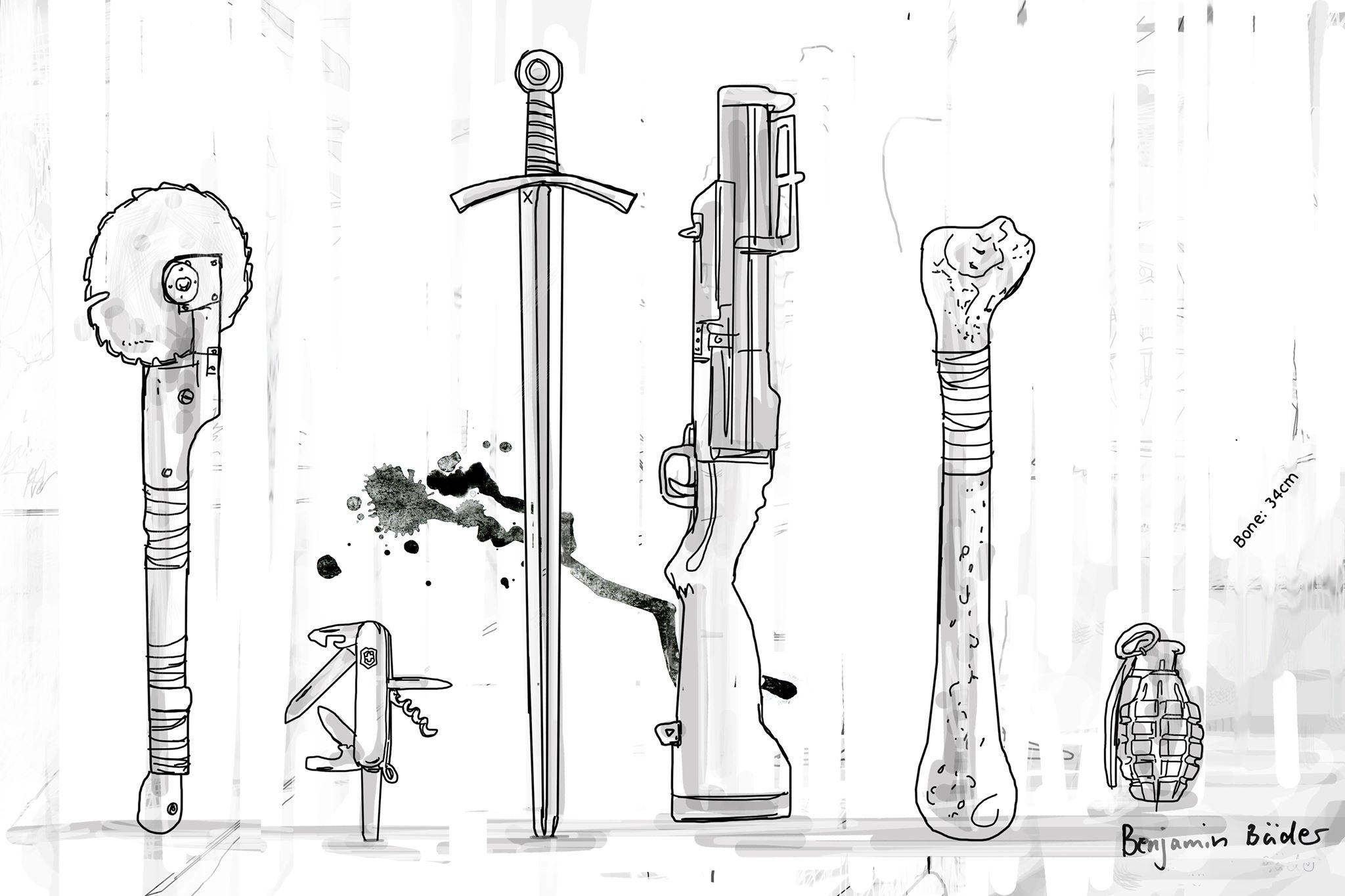 Beitragsbild: Die besten Waffen für die bevorstehende Zombieapokalypse