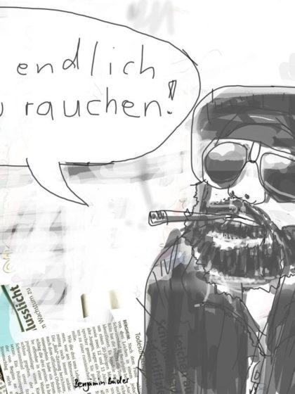 Beitragsbild: Fang endlich an zu rauchen