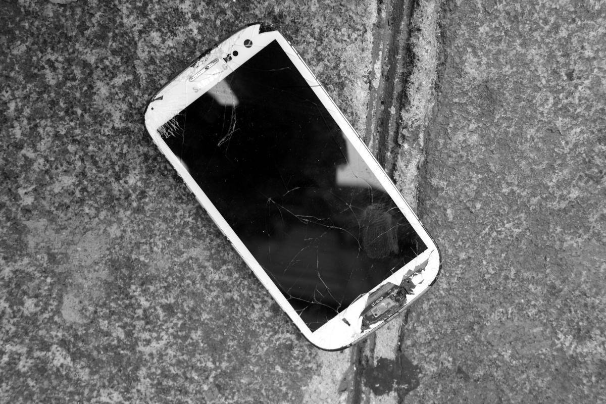Leichen im Keller bzw. Ärsche auf dem Handy