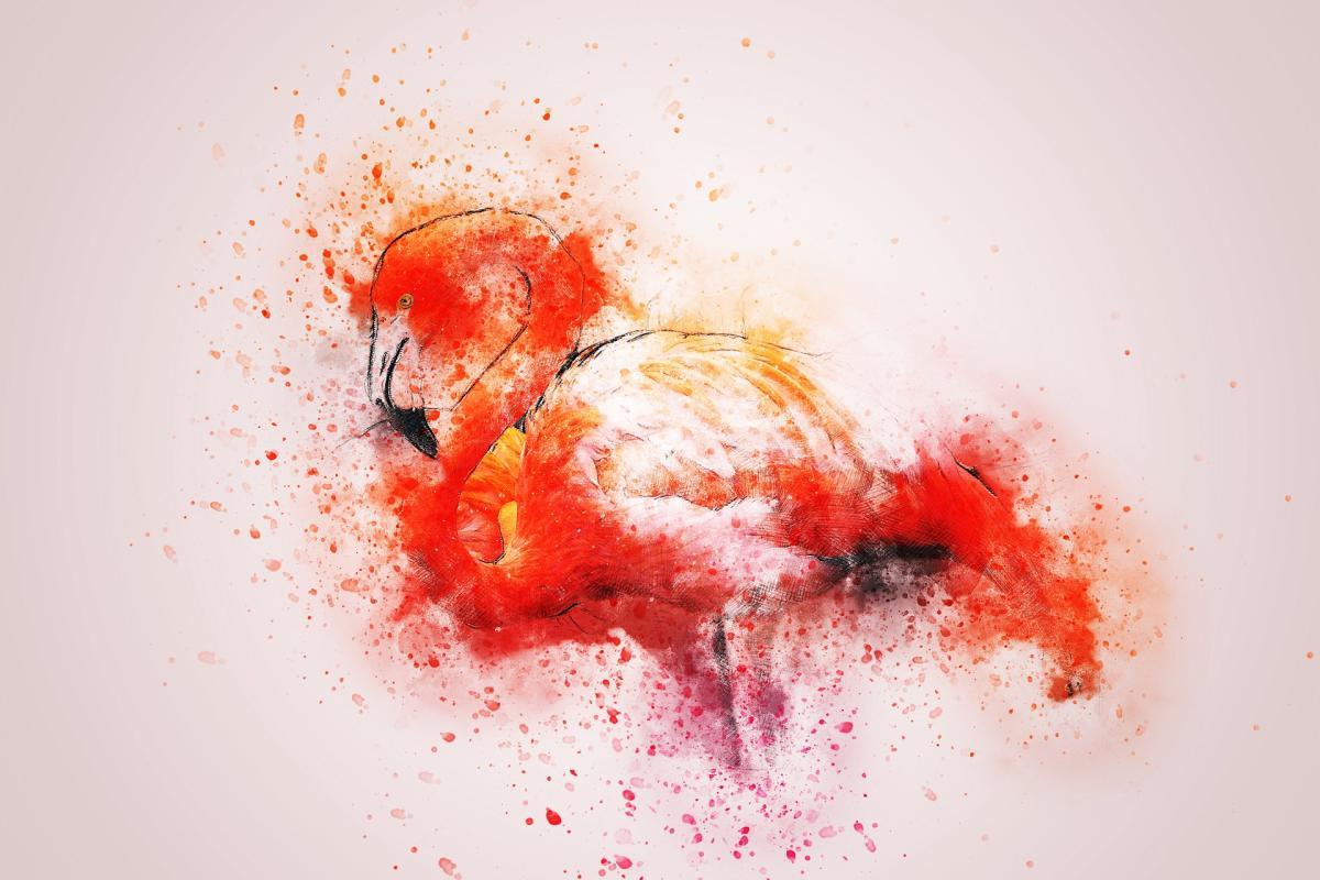 Beitragsbild: Wie ein gekritzelter Flamingo die Welt zerstörte - Künstliche Intelligenz